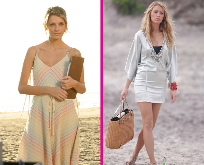**On the beach** Marissa Cooper was WAY more chill than Serena Van Der Woodsen when it came to hitting the beach. ** **