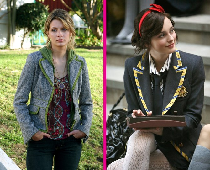 **Blazers** Preppy blazers were just as cute on the Upper East Side as they were in The O.C. ** **