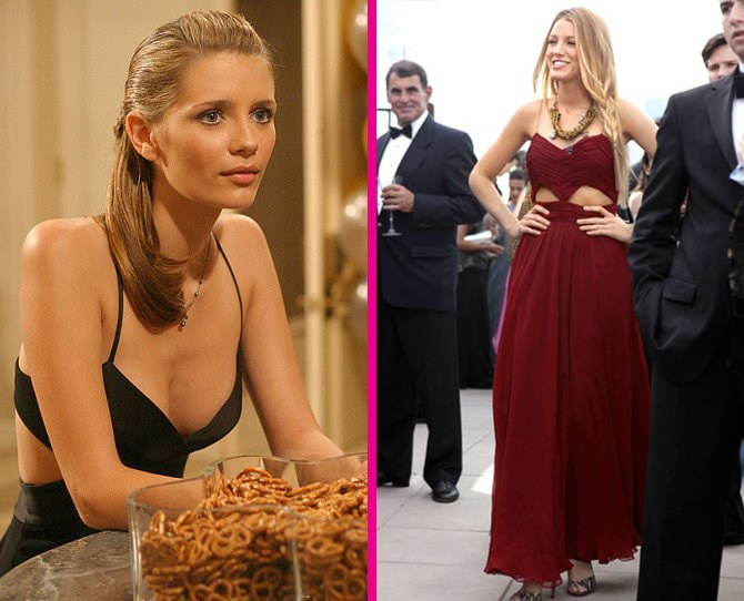 **Cut-outs** Marissa Cooper was *so* ahead of her time. While cut-out details are bang on trend rn, she was rocking them way back when. ** **