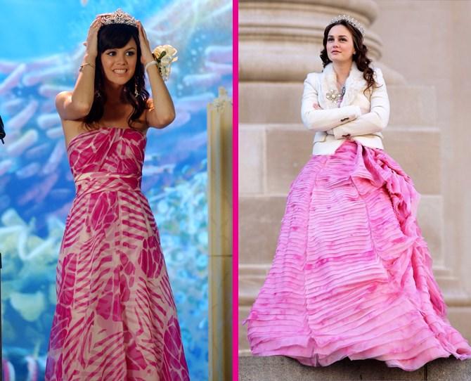 **Pink princesses** Summer Roberts and Blair Waldorf will both always be kweens to us. ** **