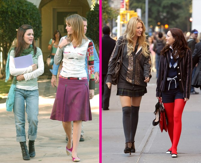 **School** Look, we're just going to say it. Both of these examples of 'school uniform' are batshit cray. ** **