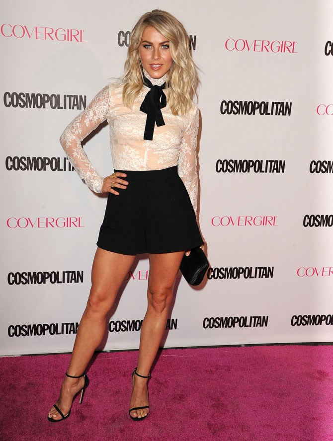 **Sexiest Legs – Julianne Hough   **All of that musical theatre practice has certainly done incredible things for her pins.