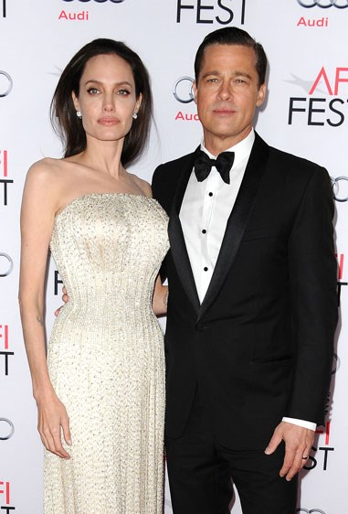 1. ANGELINA JOLIE AND BRAD PITT Age difference: 12 years.