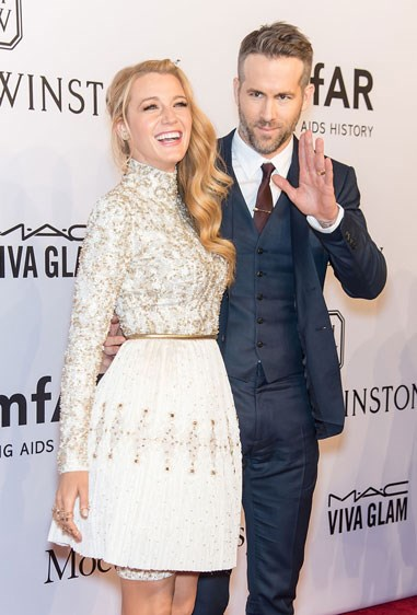5. BLAKE LIVELY AND RYAN REYNOLDS Age difference: 11 years