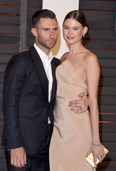 8. ADAM LEVINE AND BEHATI PRINSLOO Age difference: 10 years.
