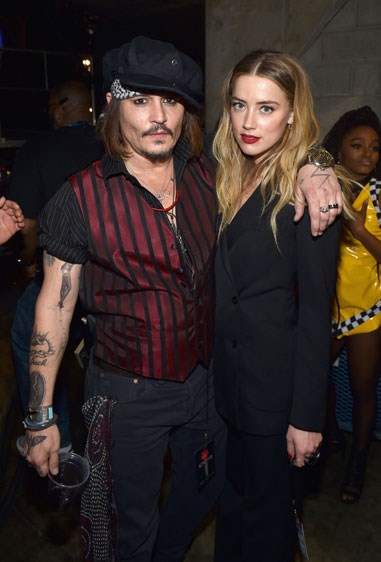 11. JOHNNY DEPP AND AMBER HEARD Age difference: 23 years.