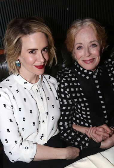 13. SARAH PAULSON AND HOLLAND TAYLOR Age difference: 31 years.