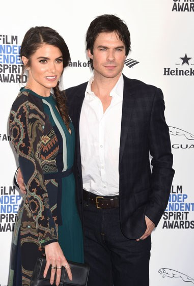 14. IAN SOMERHALDER AND NIKKI REED Age difference: 10 years.