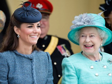 Kate Middleton says the whole Royal family teases her about this
