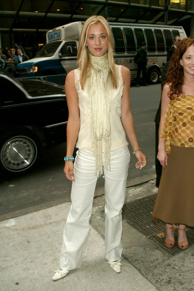Kaley Cuoco has been around for a long damn time, which is great for us because it means we can go through the archives and witness her style transformation unfold. One thing we have realised we have in common with Kaley is that we committed every style-crime she did back in the day. Starting with the square-pointed heels!