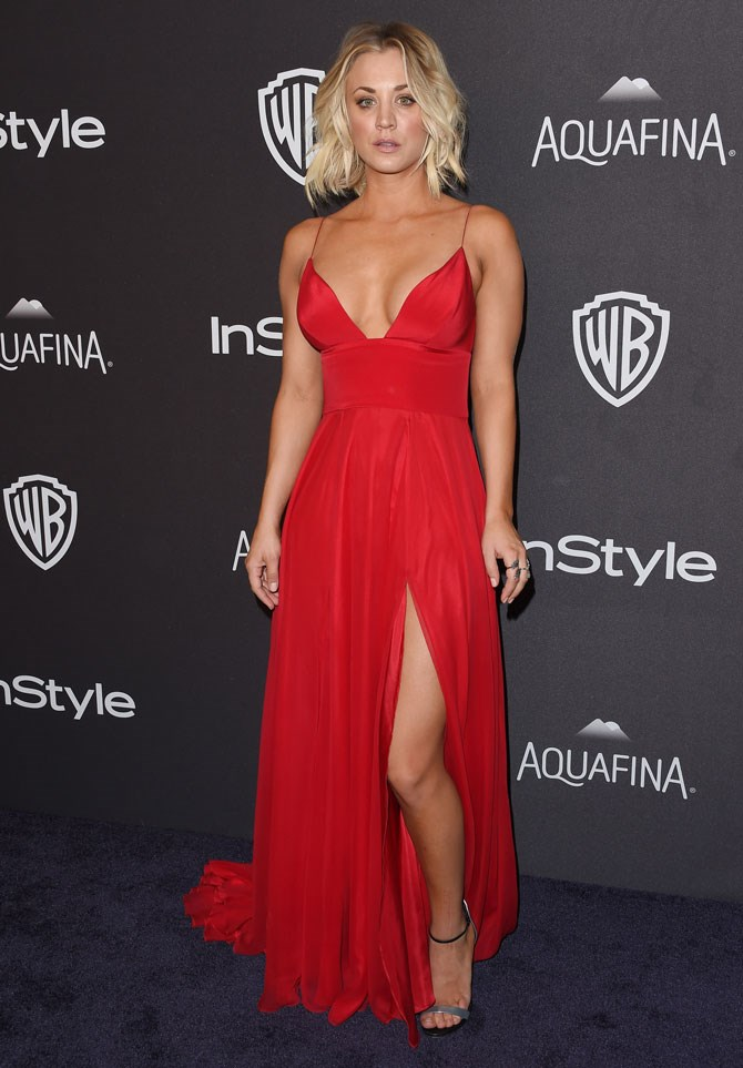 We just literally can't even deal with this look from this year's Instyle Golden Globes After Party. So smoking hot.
