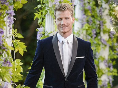 Holy biceps: rigged-up Richie Strahan works out on The Bachelor set, leaves us breathless