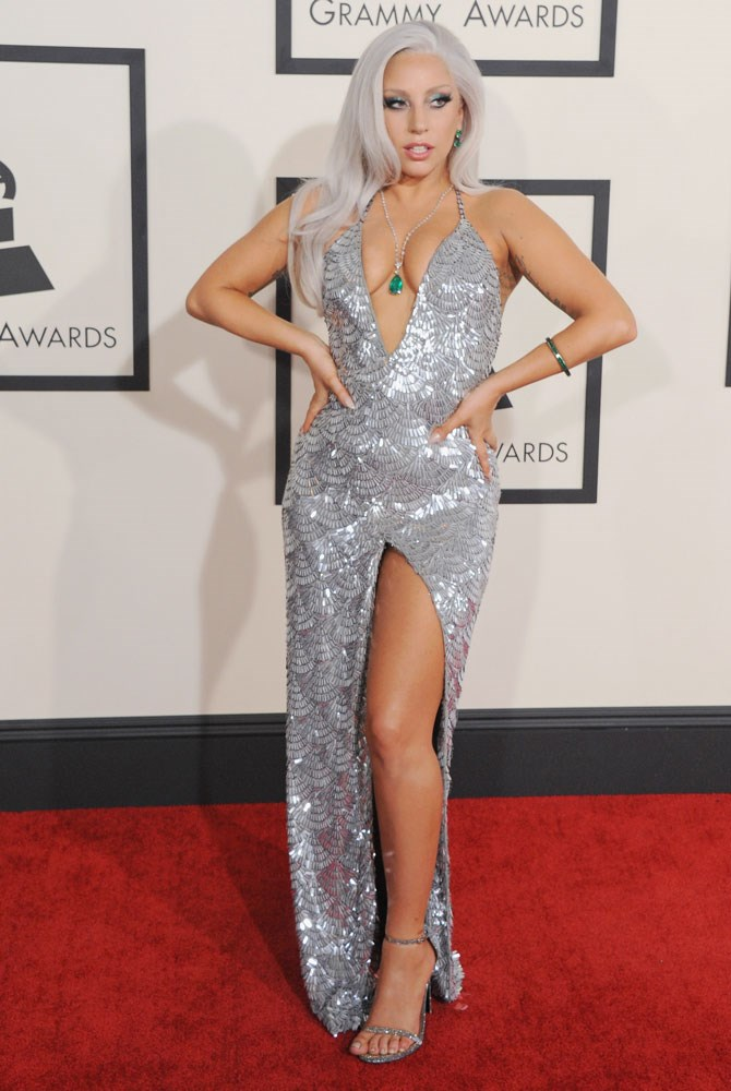 The 2015 Grammy's saw her bring back the understated glam again. Well, understated in Gaga terms, anyway.