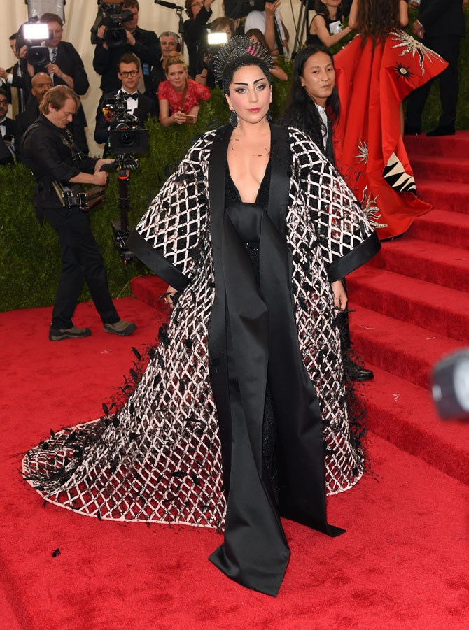 Lady Gaga and the Met Gala red carpet go together like birds to a feather.