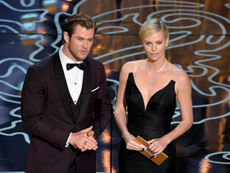 Chris Hemsworth dismisses Tom Hardy's Charlize Theron claims