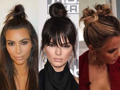 16 times the Kardashians worked a bun like nothing else