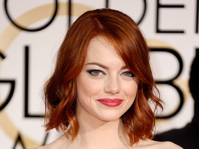 Emma Stone is completely unrecognisable with a mullet
