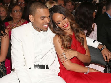 Chris Brown just wants to remind everyone how tough assaulting Rihanna was for him