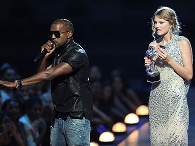 "Kanye West pulls an ""I'mma let you finish"" during a wedding speech"