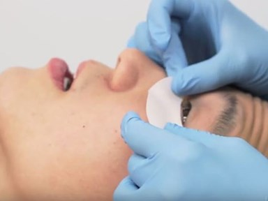 These brave men tried eyelash extensions and filmed it for our viewing pleasure