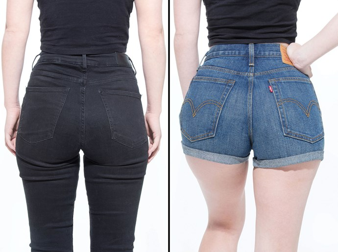 """I definitely need to buy these shorts. I felt a bit of extra fabric in between my cheeks, but it lifts and separates to give more definition than I might have had otherwise. It's basically a Wonderbra for butts, sans padding."""