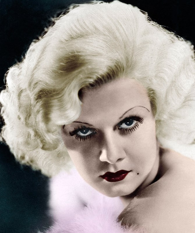 **The 1930s** In the '30s, eyebrows were still pencil thin, but had a more dramatic rounded arch like Jean Harlow's.
