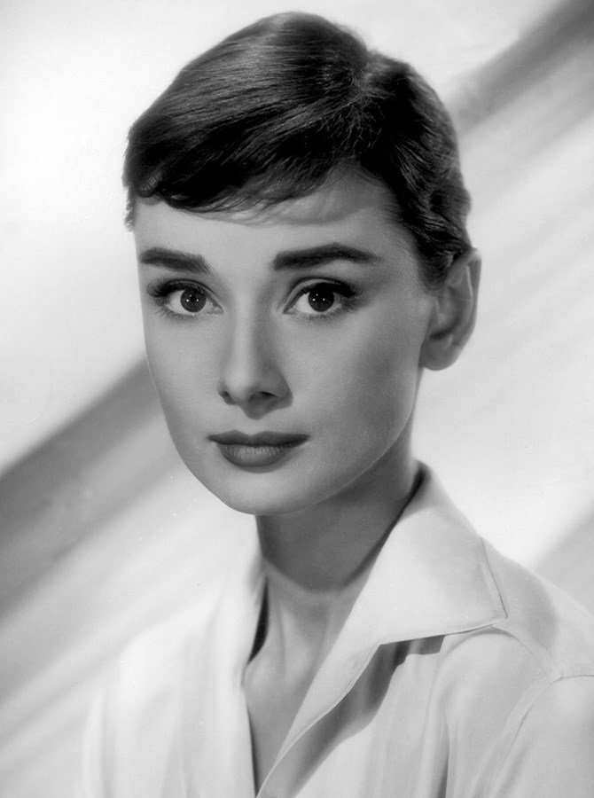 **The 1960s** Audrey Hepburn was the pin-up for thicker, natural eyebrows in the 1960s and you can see why... WHAT A SET.