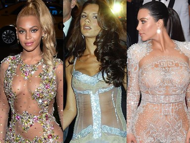 The most naked naked-dresses to ever be worn at the Met Gala
