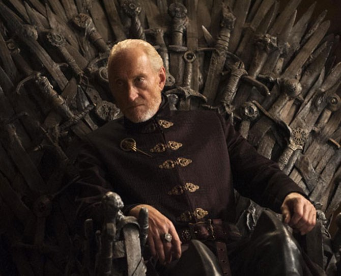 **Tywin Lannister** He might be dead as a dodo but this guilty crush needs to be addressed. Why oh why are we so attracted to such power?!?!