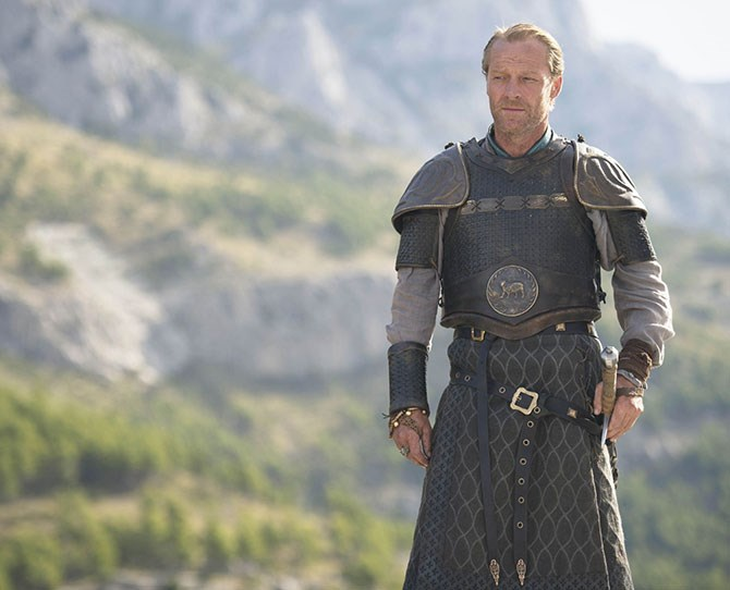 **Jorah Mormont** So valiant, so ~obsessive~ and have you seen the way he swings that sword?!