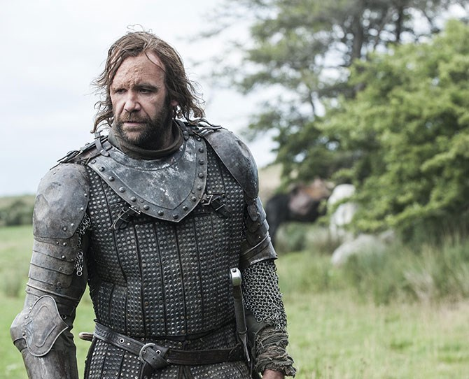 **The Hound** If you can get over all the brutality and the facial disfigurement (which, let's face it, adds to his ruggedness), then we're sure The Hound is totally fanciable.