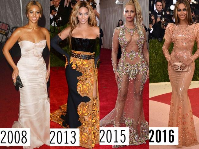Met Gala style evolutions