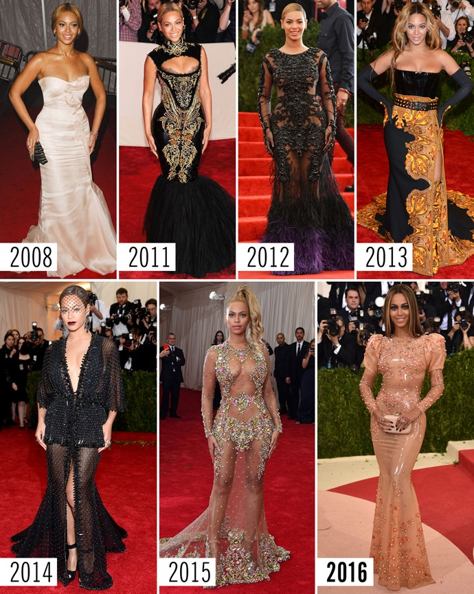 **3. Beyoncé   **Givenchy. It's always Givenchy.