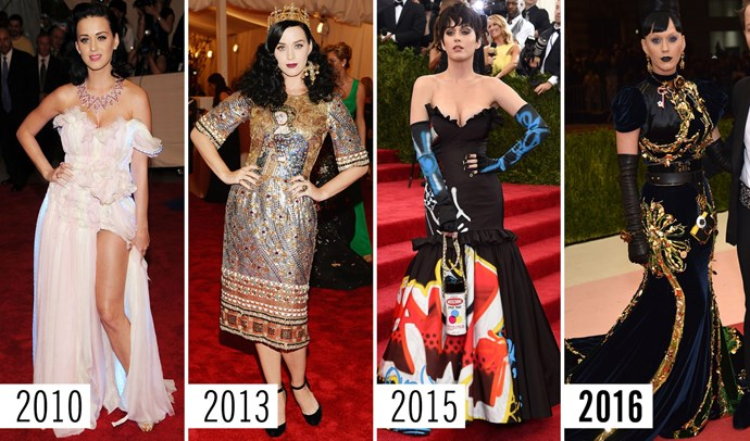 **4. Katy Perry**    Each year is a little bit darker than the one before.