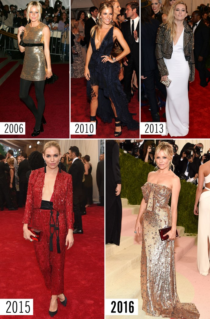 **7. Sienna Miller**    Pretty sure she hasn't aged a day since 2006. Just saying.