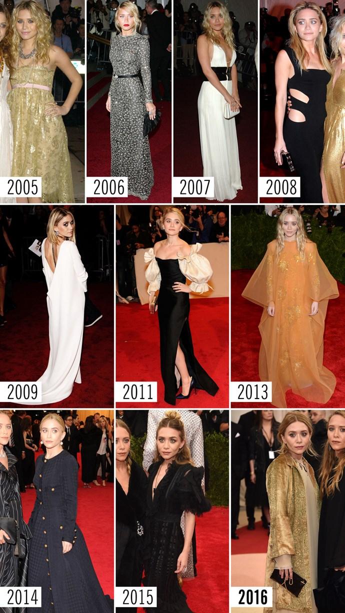 **10. Ashley Olsen   **See previous.