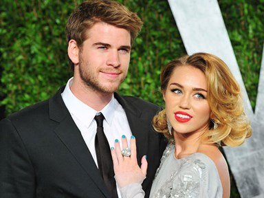 Miley Cyrus totally just got insta-official with Liam Hemsworth with this selfie