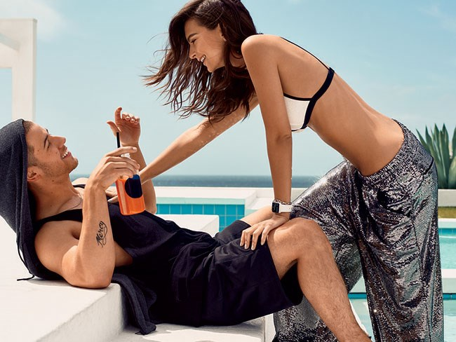 Emily Ratajkowski and Nick Jonas for Glamour Magazine