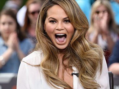 Chrissy Teigen's fake tan struggle is real, hilarious