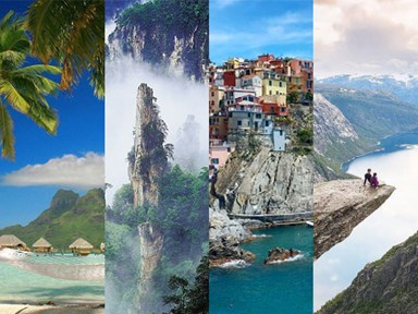 22 unreal destinations that will give you next-level wanderlust