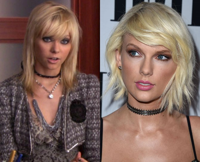 """Jenny Humphrey loved chokers before they even became a thing and certainly before Taylor Swift realised they were a think and started calling them """"the new flower crown."""""""