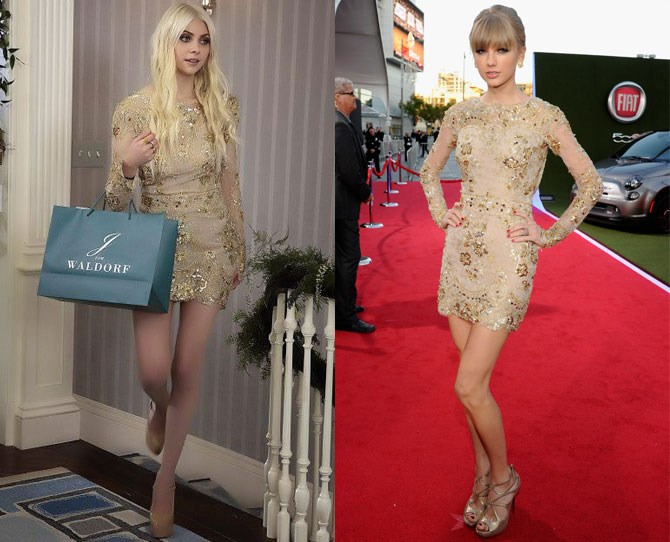 UM, GUYS, I'M PRETTY SURE THIS IS THE EXACT SAME FLIPPIN DRESS!