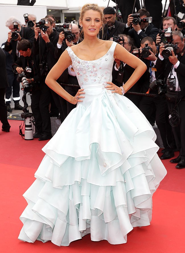 Blake was an actual Disney princess in this number she hit the Cannes red carpet wearing. Not just wearing - she OWNED that frock.