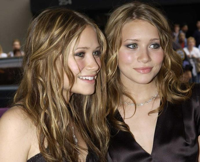 "**Side Pinned Waves**<br><br>   **The celebrity muses:** Mary-Kate and Ashley Olsen<br><br>  Ah, the side pinned back waves (bonus points if your pinned strands were actually plaits!). This look was arguably peak Olsen Twins era, well before [Mary-Kate and Ashley began retreating from public life](https://www.elle.com.au/celebrity/olsen-twins-appearances-23394|target=""_blank"") to become the fashion icons they are today."