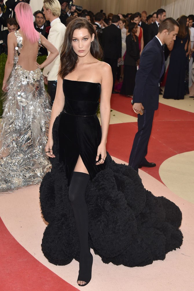 Her Met Gala look was absolutely flawless this year, launching her straight to the top of our best-dressed list. Such a beautiful mix of modern glamour!