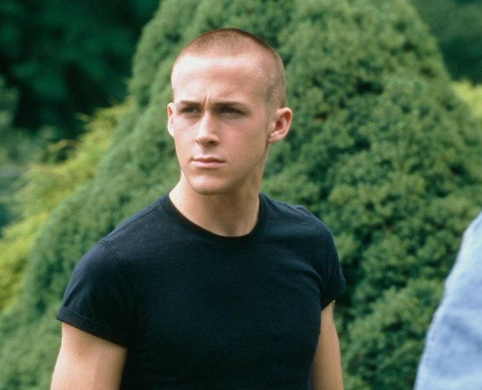 **17. *The Believer* (2001)** I know, I know, I was just talking about his hair and now I'm saying a clean-shaven Ryan is also hot. It also doesn't help that he's a Neo-Nazi in the film. Can I live? And can someone tell me why Ryan's eyebrows are so well-groomed here?