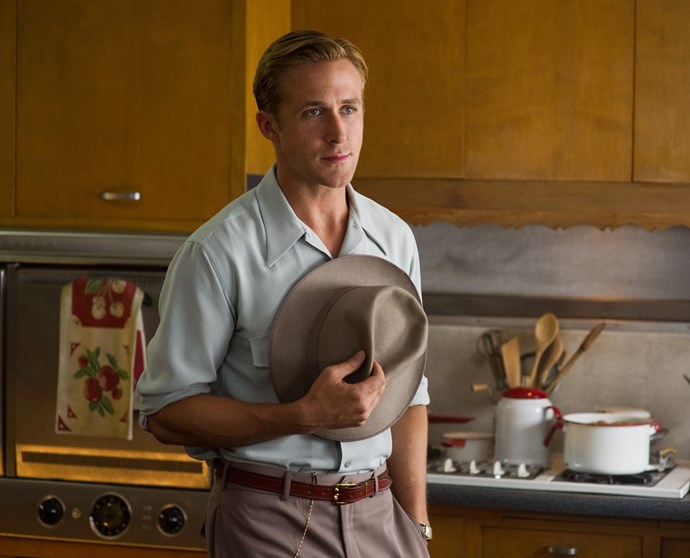 **4. *Gangster Squad* (2013)** Ryan also looks good in a fedora. Ryan should really wear more fedoras IRL.