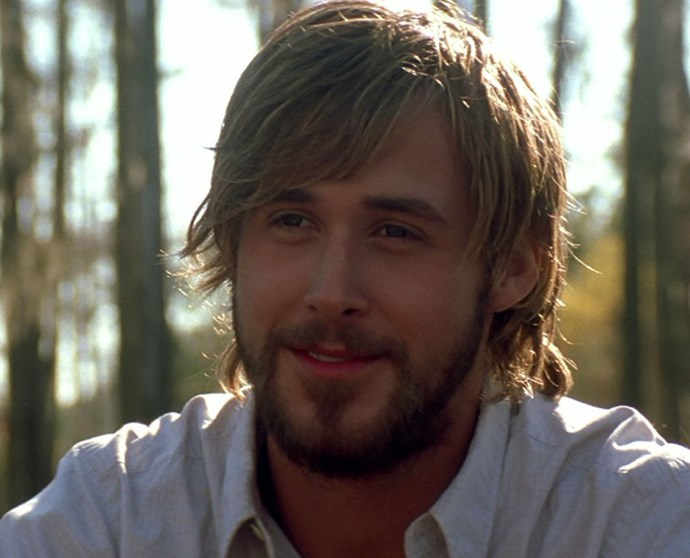 **2. *The Notebook* (2004)** I don't know if it's romantic vibes, the fact that he'll always be Allie's bird, or the way he looks at her when they're in a rowboat, but there are so many ways he's H-O-T here. Again, wet Ryan is never, ever, a bad thing.