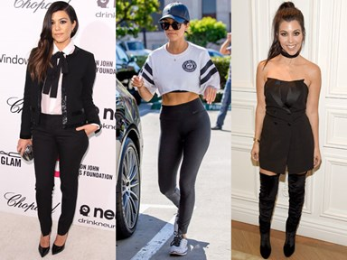 25 times Kourtney Kardashian's style totally slayed