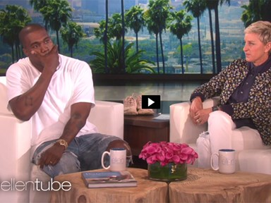 Kanye West just went peak Kanye on Ellen and we can barely even watch